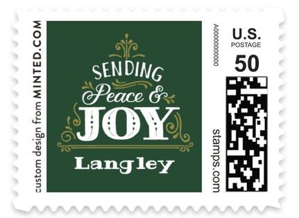 Joyful Tree Holiday Stamps