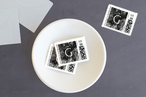 Classical Update Holiday Stamps
