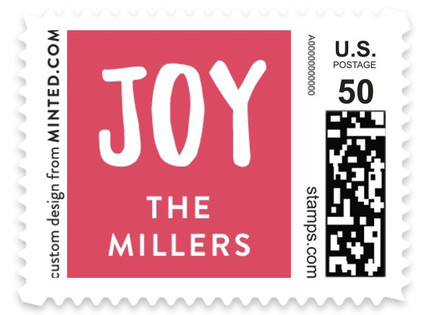Jingle All the Way Holiday Stamps