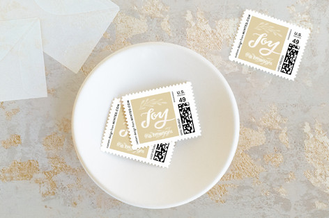 Comfort and Joy Holiday Stamps