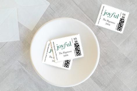 Joyful Tidings Holiday Stamps
