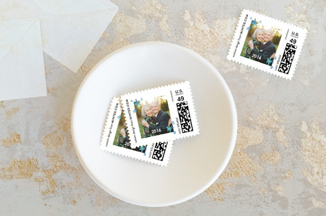 Hark the Herald Angels Holiday Stamps