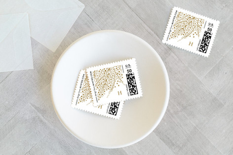 Burst Holiday Stamps