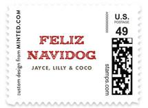 Feliz Navidog Holiday Stamps