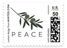 Olive Branch Holiday Stamps