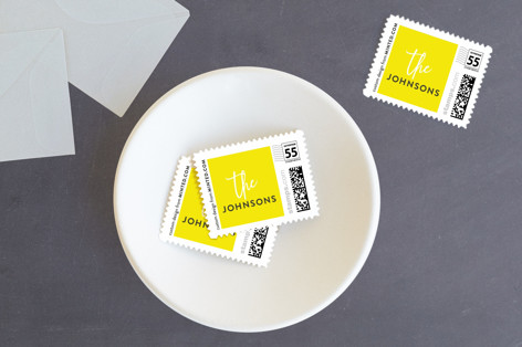 Welcome Year Holiday Stamps