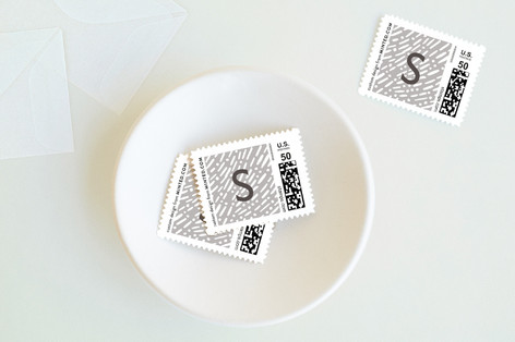 Lux Confetti Holiday Stamps