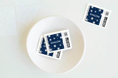 Simply Hanukkah Holiday Stamps