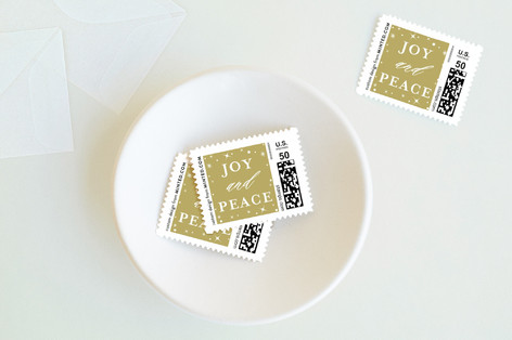 Joyfully Blessed Holiday Stamps