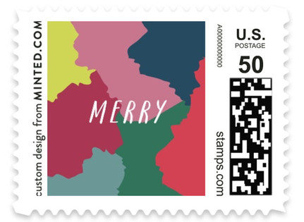 Pompoms Holiday Stamps