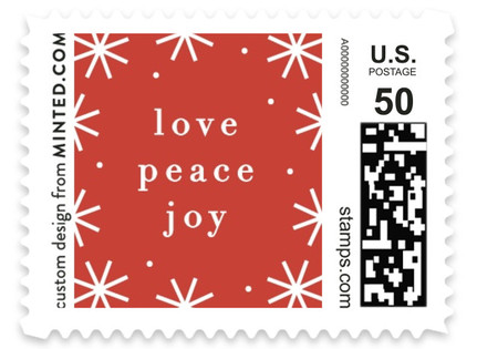 So Merry Holiday Stamps