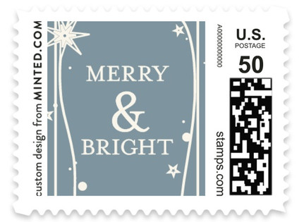 Twilight Stars Holiday Stamps