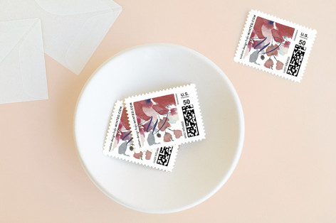 Sweeping Blooms Holiday Stamps