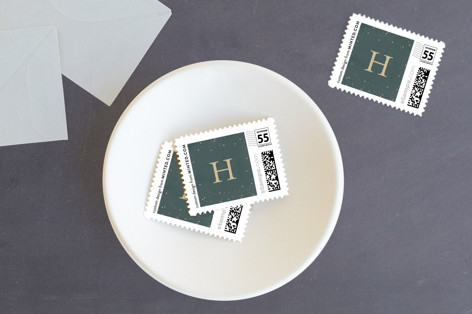 Sparkling Be Merry Holiday Stamps