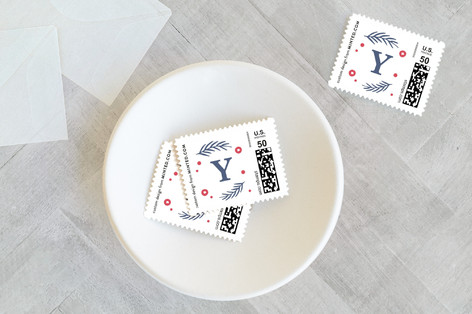 Wishing You Joy and Cheer Holiday Stamps