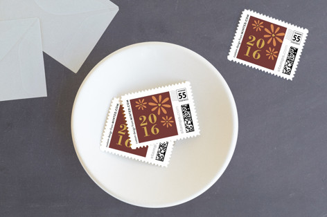 Be Thankful With Us Holiday Stamps