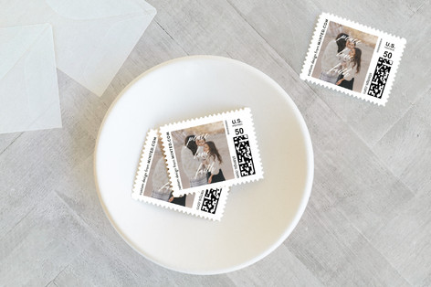 Peace Love Faith Holiday Stamps