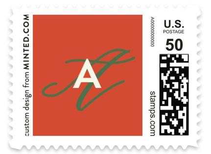 Wild Mistletoe Holiday Stamps