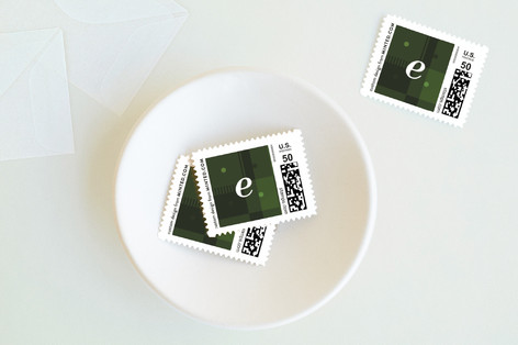 Simply Stated Holiday Stamps