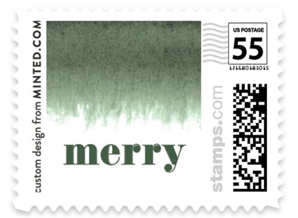 Established in Color Holiday Stamps