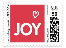 Funky Quartet Holiday Stamps