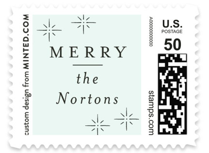 Merry Stars Holiday Stamps