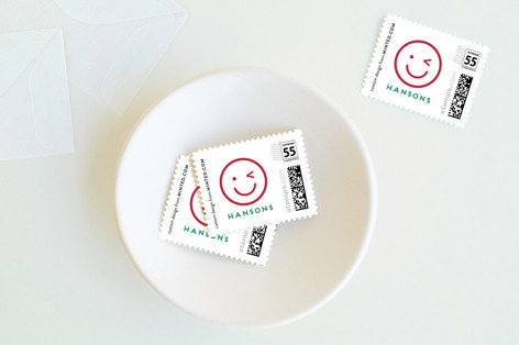 Emoji Shine Holiday Stamps