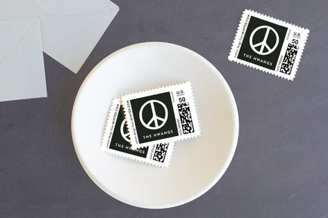 Simply Peace Holiday Stamps