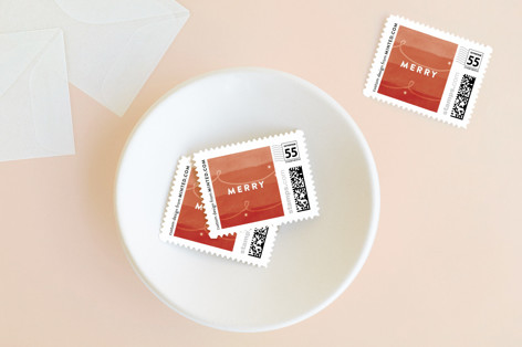 Merry Happens Holiday Stamps
