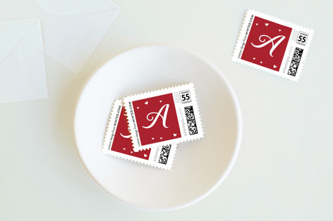 Hugs & Kisses Holiday Stamps
