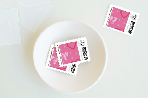 Adorable Love Holiday Stamps