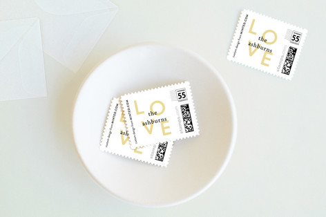 Eternal Love Holiday Stamps