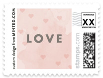 Sending Hearts Holiday Stamps
