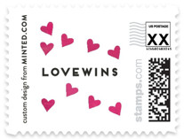 #LOVEWINS Holiday Stamps