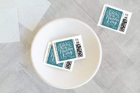 The Glorious King Holiday Stamps