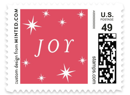 Stars Holiday Stamps