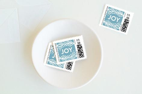 Botanic Joy Holiday Stamps