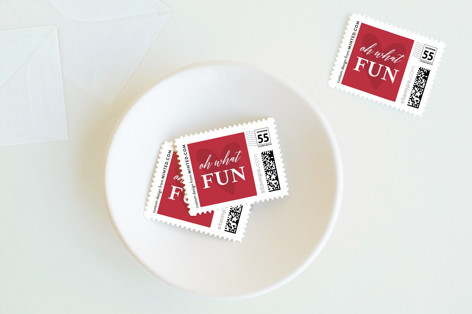 light-hearted Holiday Stamps