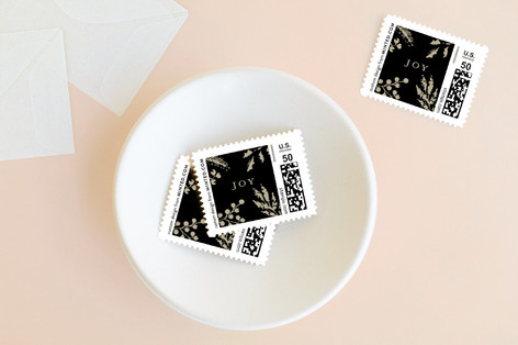 The Blessings of Christmas Holiday Stamps