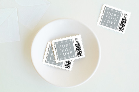 Modern Faith Holiday Stamps