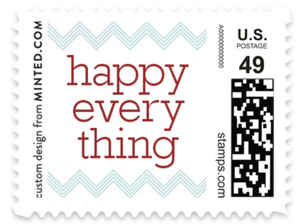 Happy Everything Holiday Stamps