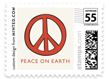 The Peace Van Holiday Stamps