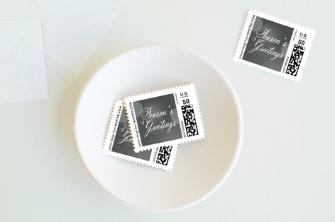 Christmas Glow Holiday Stamps