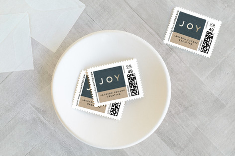 Big Joy Holiday Stamps