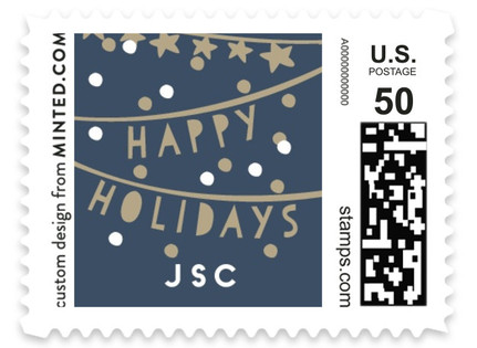 Holiday Streamers Holiday Stamps