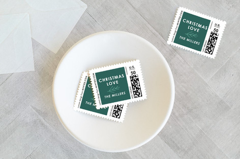 Merrily Ever After Holiday Stamps