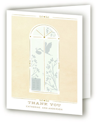 Sweet Nursery Baby Shower Thank You Cards