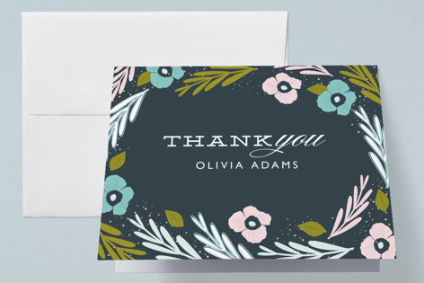 Their Nest Baby Shower Thank You Cards
