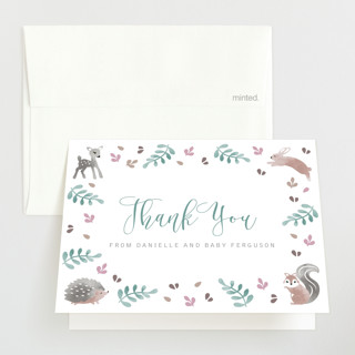 ABC Baby Shower Thank You Cards