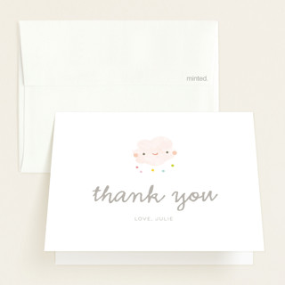 Sprinkle Baby Shower Thank You Cards